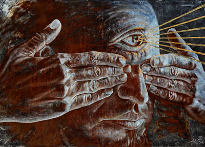 Jorge César Sáenz Cuban Contemporary Artist, artista cubano contemporáneo